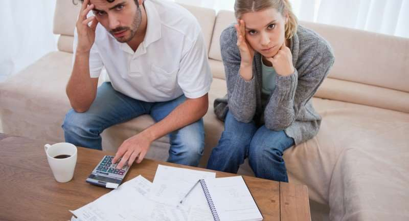 financial stress in a relationship