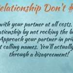 Relationship Dont's: Quick Tips for What to Avoid in Relationships