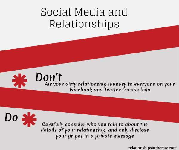 relationship problems and social media