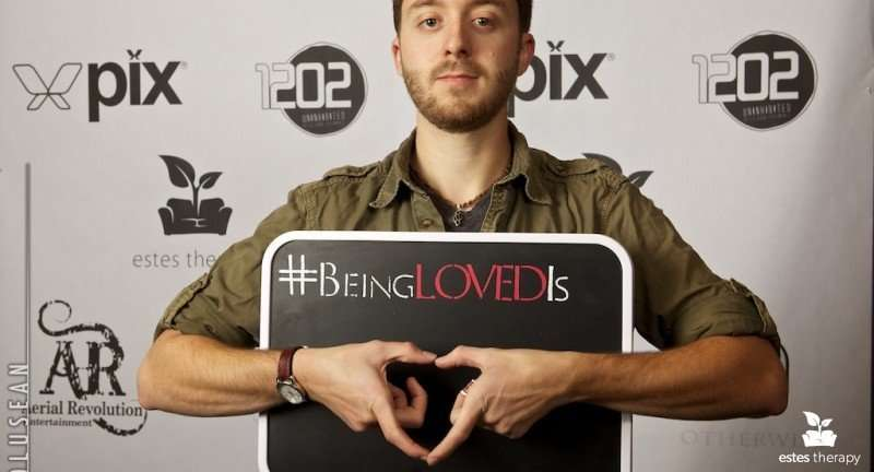 beinglovedis being loved is love hands circus volunteer charity event