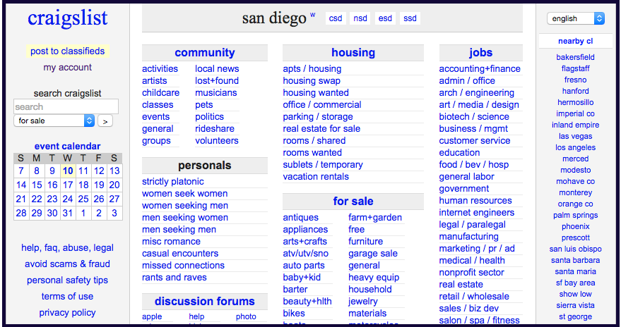 Help! My Relationship is Being Ruined by San Diego Craigslist