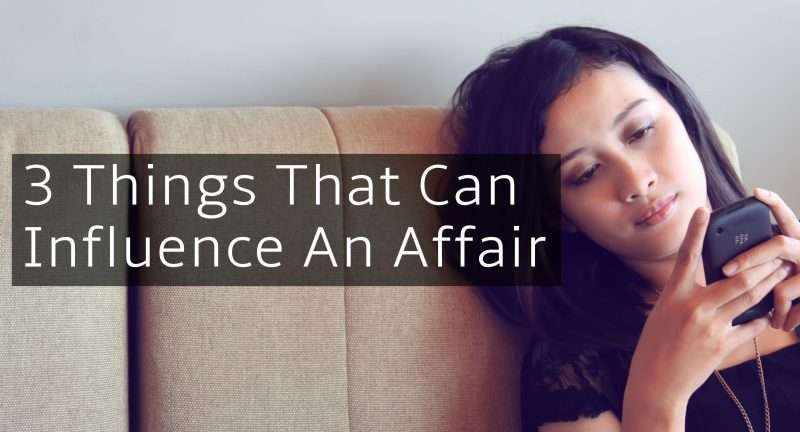 Counseling Influence an Affair