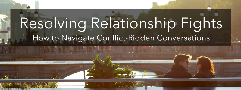 Resolving Relationship Fights