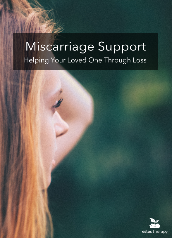 "Support Someone Through Miscarriage via @Estes Therapy | The loss of a child is a trauma that no one should have to go through. This loss is uniquely experienced after a miscarriage when a mama was not able to meet her baby earthside at all or for very long. As an outsider to the pregnancy, you may find it difficult to know how to react. Whether or not the pregnancy ""felt"" like a baby to you, it probably did to your friend. With that in mind, let's look at a how to support someone through miscarriage. 