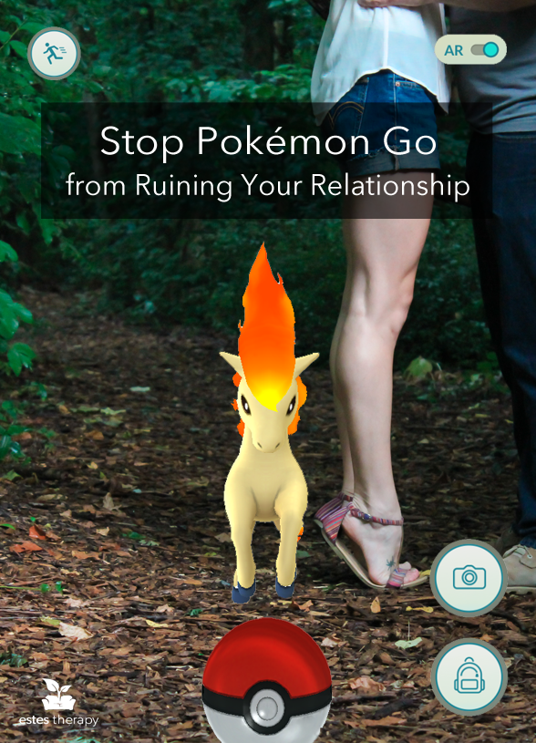 Stop Pokémon Go from Ruining Your Relationship via @EstesTherapy. How to set boundaries and have fun with Pokémon Go.