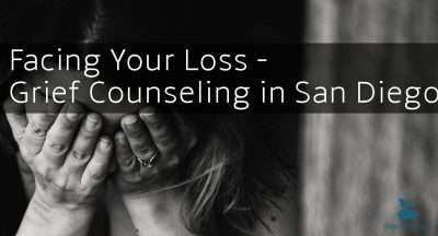 Facing Your Loss grief counseling San diego death grief grieving bereavement moving on five stages